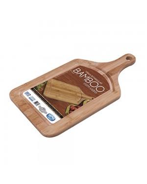 Tábua de Corte/Carne Bamboo com Cabo Mor