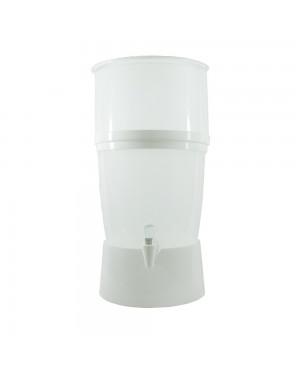 Filtro de Água Seleto 10 Litros com Vela de Cerâmica Branco