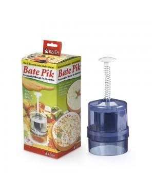 Bate Pik - Processador Manual de Alimentos - Faca Giratória em Inox Keita
