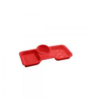 Porta Sabão e Detergente Paramount Vermelho