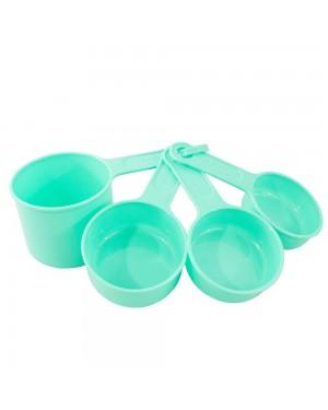 Conjunto de Xícaras Medidoras Verdes