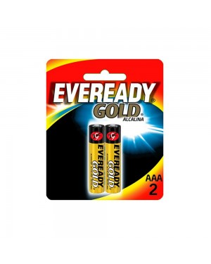 Pilha Eveready Gold Alcalina AAA 2