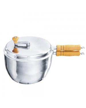 Pipoqueira de Alumínio Fundido/Batido Carola Tam 24