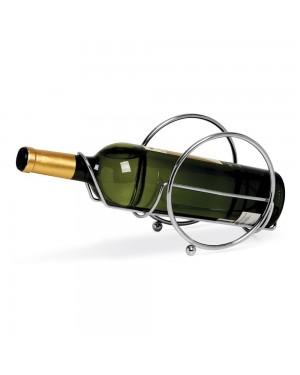 Porta Vinho Cromado Niquelart