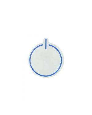 Botão Suggar Aleluia 50 mm 4.0 Azul
