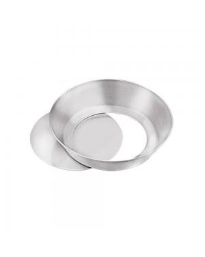Forma para Quiche Fundo Falso Alumínio Caparroz com 12 Unidades Tam. 9