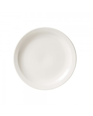 Prato Raso Porcelana Branco 27 cm Oxford Avulso