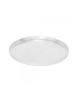 Assadeira/Forma Reforçada para Pizza Alumínio Nigro Tam. 25 a 35