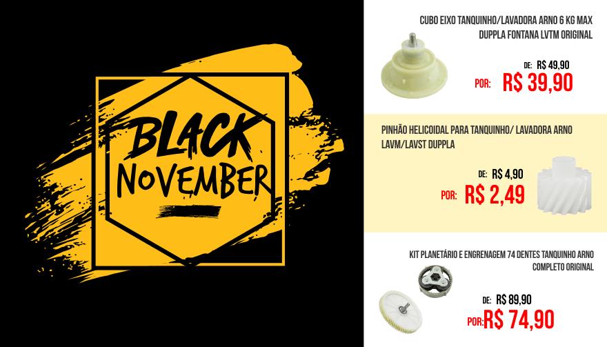 Black november tanquinho Duppla