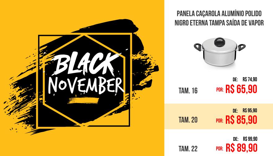 Black november Caçarola